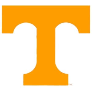 "Tennessee Volunteers 5""x5"" Static Cling"