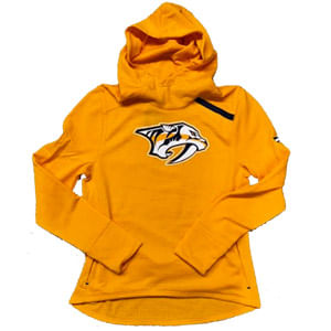 Women's Fanatics Nashville Predators Rinkside Hooded Fleece Sweatshirt (Gold)