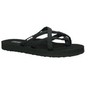Women's Teva Olowahu Sandal - Mixed Black on Black