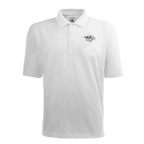 Men's Nashville Predators Pique Xtra-lite Polo (White)
