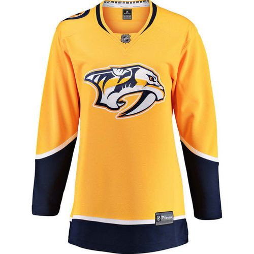 Women's Fanatics Nashville Predators Breakaway Home Jersey (Gold)