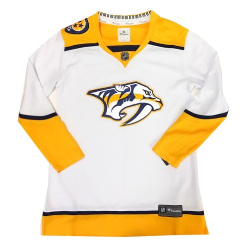 Women's Fanatics Nashville Predators Breakaway Road Jersey (White)