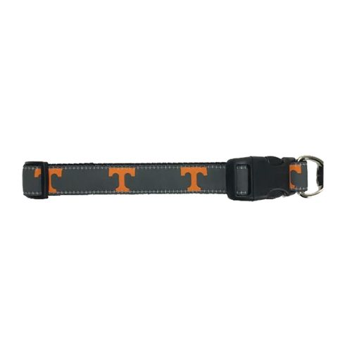 Tennessee Volunteers Logo Dog Collar (Grey)