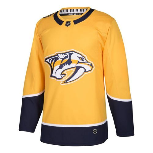 Men's adidas Nashville Predators Authentic Pro Home Jersey (Gold)
