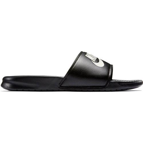 Nike Men's Benassi Just Do It Slide (Black/White)