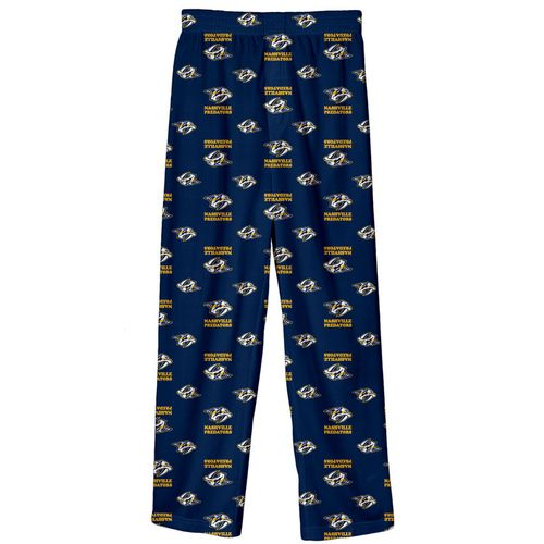 Youth Nashville Predators Pajama Pant (Navy)
