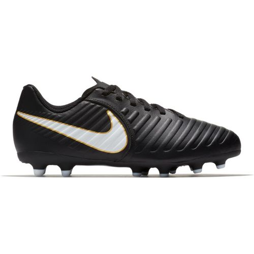 Kid's Nike Tiempo Rio IV Soccer Cleat (Black)