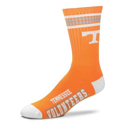 Tennessee Volunteers 4 Striped Deuce Sock
