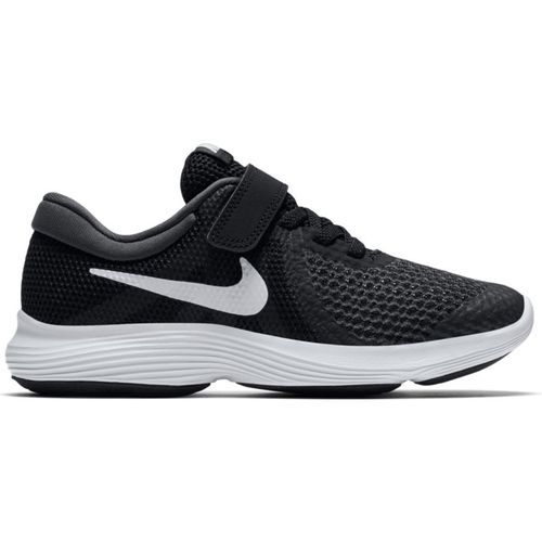 Pre School Nike Revolution 4 (Black/White)