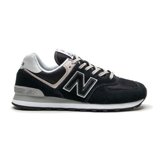 Men's New Balance 574 (Black/White)