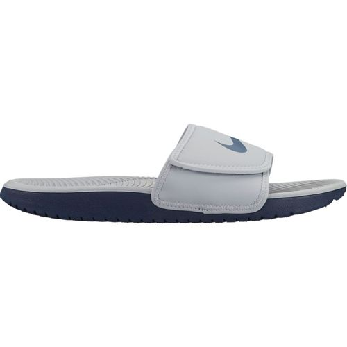 Grade School Nike Kawa Adjustable Slide (Wolf Grey)