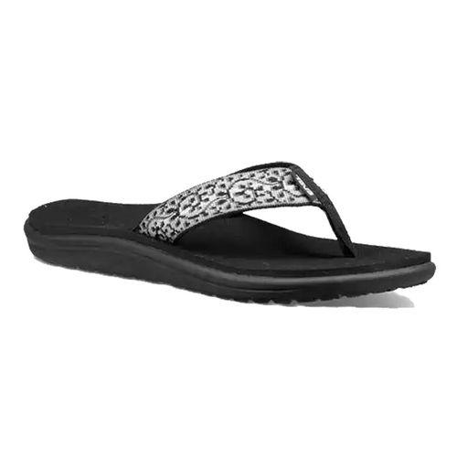 Women's Teva Voya Flip Sandal (Companera Black/White)