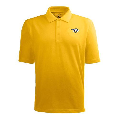 Men's Nashville Predators Pique Polo (Gold)