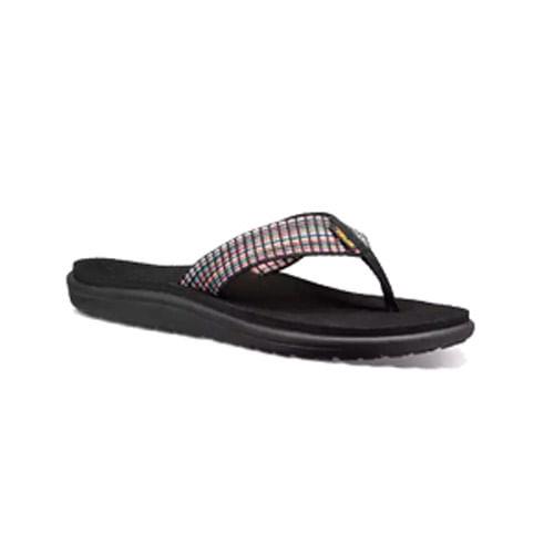 Women's Teva Voya Flip Sandal (Bar Street Multi Black)