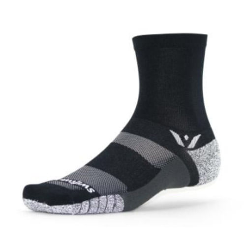 Swiftwick Flite XT Crew Sock (Black)