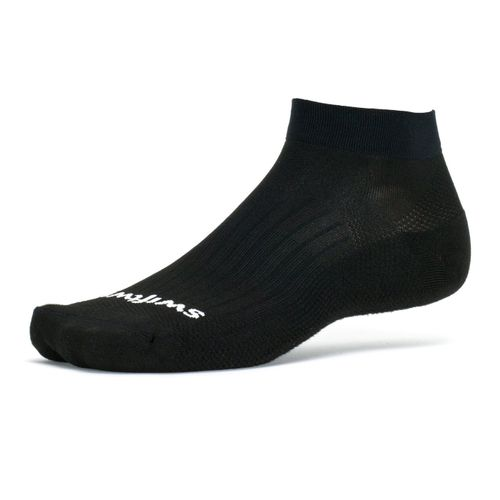 Swiftwick Aspire One Military Minimum Cushion Ankle Sock (Black)