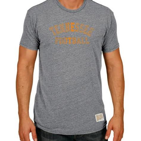 Men's Retro Brand Tennessee Volunteers Football Morty T-Shirt (Heather Grey)