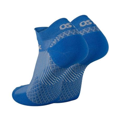 OS1ST FS4 Plantar Fasciitis No Show Sock (Blue)