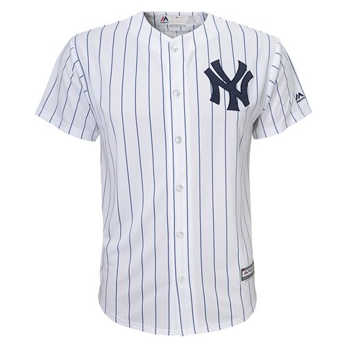 Youth New York Yankees Cool Replica Jersey (White)