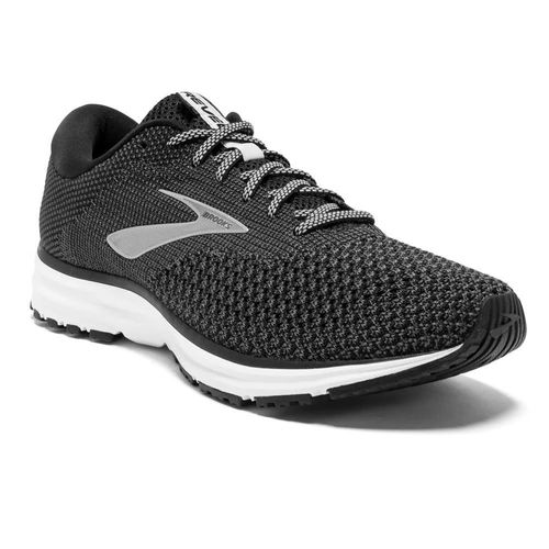 Men's Brooks Revel 2 (Black/Grey)