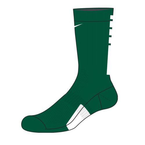 Nike Elite Team Crew Sock (Gorge Green/White)