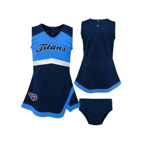 Toddler Tennessee Titans Cheer Dress (Navy)
