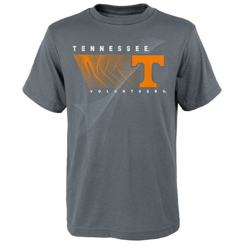Youth Tennessee Volunteers Turbulence Short Sleeve T-Shirt (Charcoal)
