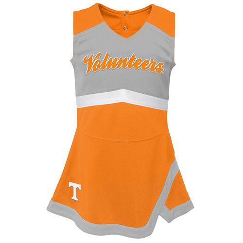 Girl's Tennessee Volunteers Cheer Dress (Orange)