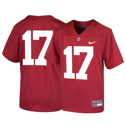Youth Nike Alabama Crimson Tide Football Jersey (Crimson)