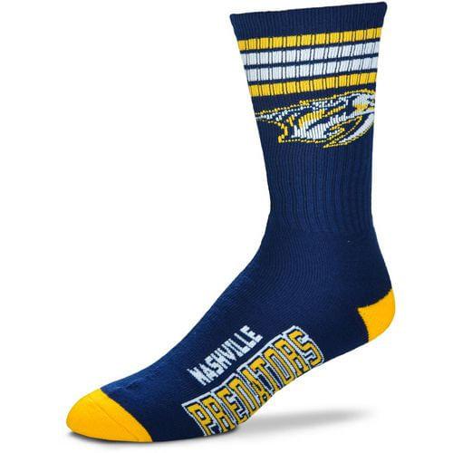 Nashville Predators 4 Striped Deuce Sock