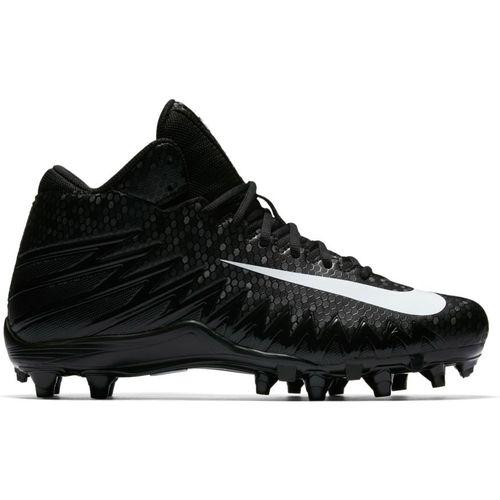 Men's Nike Alpha Menace Varsity Football Cleat (Black/White)