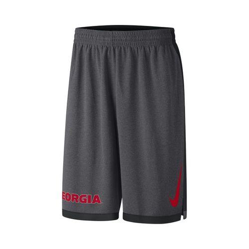 Men's Nike Georgia Bulldogs Dribble Short (Anthracite)