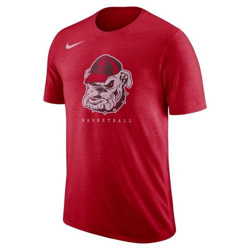 Men's Georgia Bulldogs Retro Short Sleeve T-Shirt (Red)