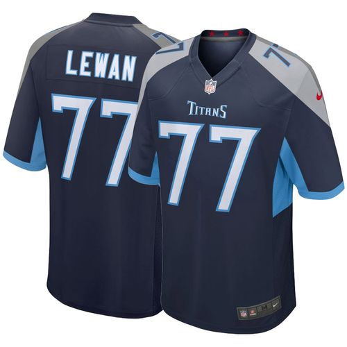 Men's Nike Tennessee Titans Taylor Lewan 2018 Game Jersey (Navy)
