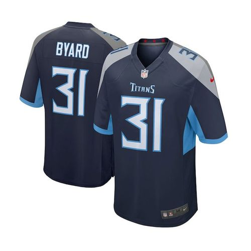 Youth Nike Tennessee Titans Kevin Byard 2018 Home Jersey (Navy)
