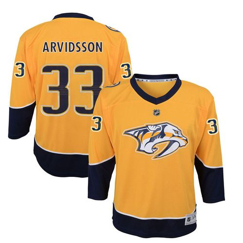 Youth Nashville Predators Viktor Arvidsson Premier Home Jersey (Gold)