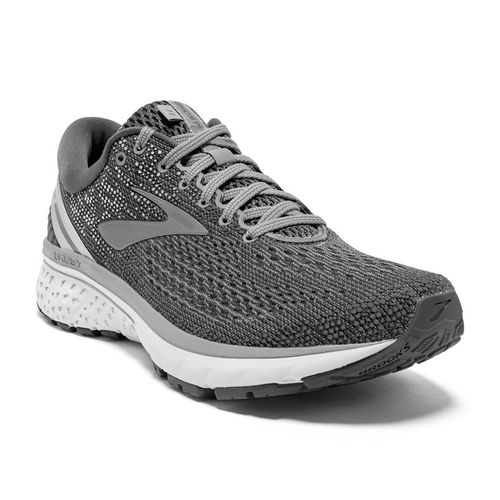 Men's Brooks Ghost 11 Wide (Ebony/Grey)