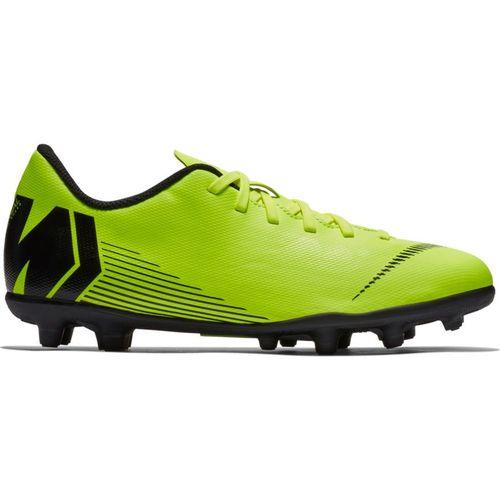 Grade School Nike Vapor 12 Club Soccer Cleat (Volt/Black)