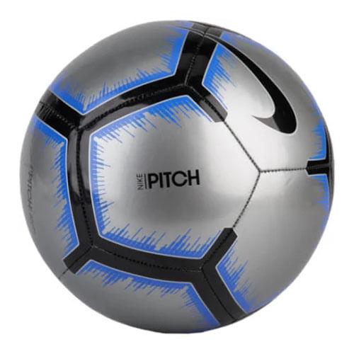 Nike Pitch Soccer Ball (Metallic Silver/Black)
