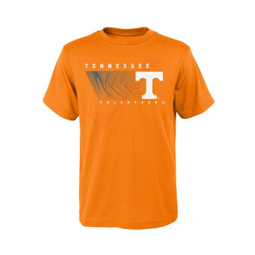Kid's Tennessee Volunteers Turbulence Short Sleeve T-Shirt (Orange)