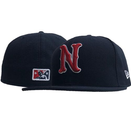 New Era Nashville Sounds Authentic Home Fitted Hat (Navy)