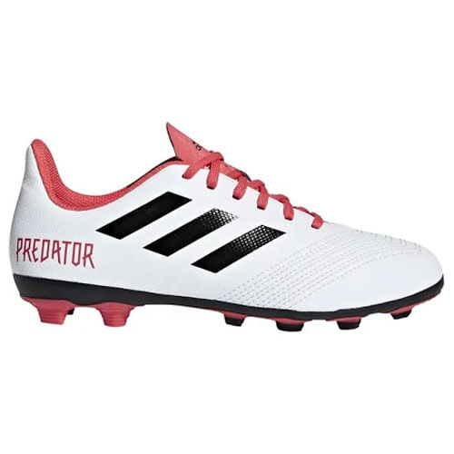 Kid's adidas Predator 18.4 FG J (White/Black)