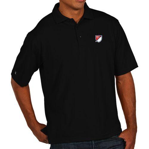 Men's MLS Logo Pique Xtra-lite Polo (Black)