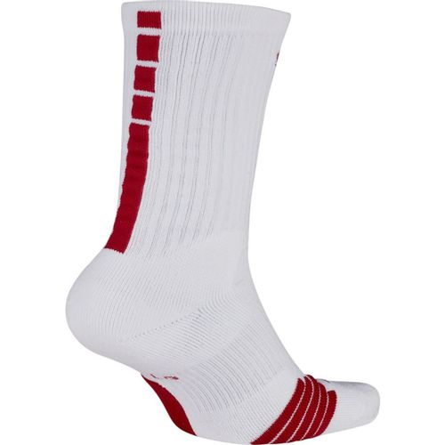 Nike Elite Team Crew Sock (White/Team Crimson)