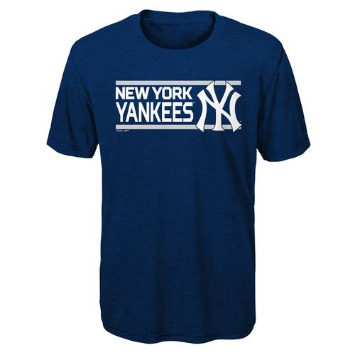 Youth New York Yankees Official Ultra Short Sleeve Shirt (Navy)