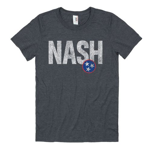 Men's Nash Impacted Short Sleeve T-Shirt (Heather Grey)
