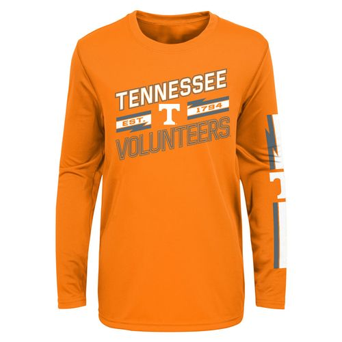 Youth Tennessee Volunteers Spark Plug Long Sleeve Shirt (Orange)