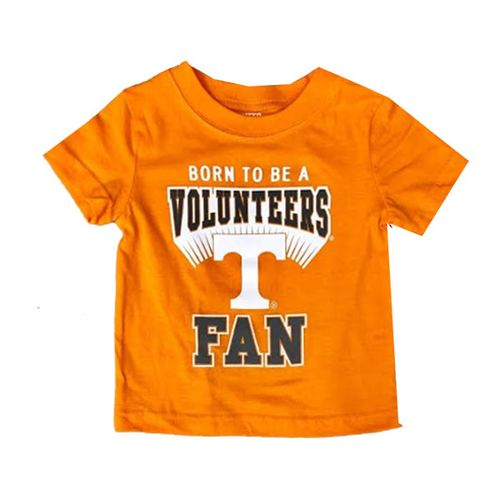 Infant Tennessee Volunteers Born Fan T-Shirt (Orange)