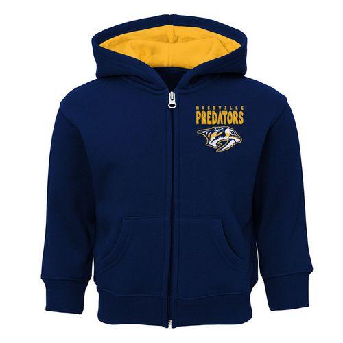Toddler Nashville Predators Full Zip Jacket (Navy)