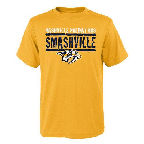 Youth Nashville Predators Smashville Short Sleeve T-Shirt (Gold)